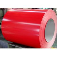 JIS GI RAL Color Coated Steel Coil / Cold Rolled Steel CGCC SPCC For Boiler Manufactures