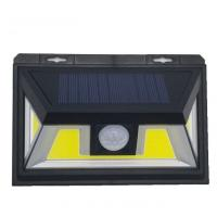 COB Light Source LEDs IP65 Waterproof Solar Powered Motion Security Light Manufactures