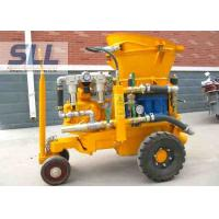 Air Driven Concrete Shotcrete Machine With Rubber Sealing Plate Easy Operation Manufactures