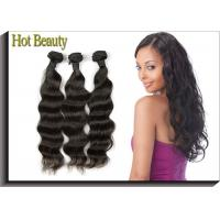 Malaysian Human Hair Extensions For Adults Clean & Neat Ends Body Wave Can Be Permed Manufactures