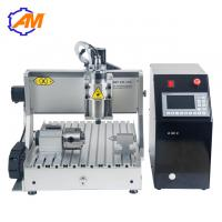 China AMAN 3040 mini cnc router metal woodworking cnc engraving machine 3040 cnc engraving wooden plates craft supplies on sale