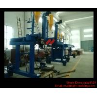 Automatic T / H Beam Welding Machine For H Beam Production Line 5000mm Railspan Manufactures