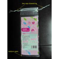 Cotton Swabs Small Drawstring Plastic Bags Transparent Storage Bags Manufactures