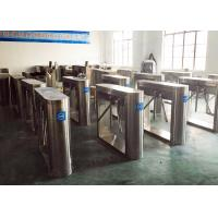 Building Access Tripod Turnstile Gate Crow Control , Automatic Turnstyle Door Manufactures