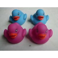 Promotional Gift Color Changing Ducks Eco Friendly PVC Baby Bath Warm Warning Manufactures