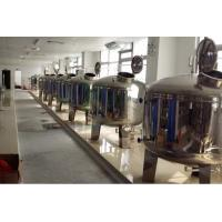 SS304 / SS316 Stainless Steel Filter Tank , Pre Treatment Tank For Water Treatment Manufactures