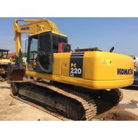 Japan Original Komatsu crawler excavator 22 tonnage bucket 1m3 with water coolant Komatsu engine Manufactures