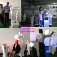 laser hair regrowth machine with Helmet hair analyzer Manufactures