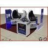 Flexible 9D Simulator 9D VR Cinema 6 Dof Dynamic 1080P HD Motion Manufactures