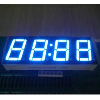 """Common Anode LED Clock Display Ultra Blue  0.56"""" For Oven Timer Withstand 120℃ Manufactures"""