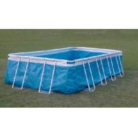 Rectangular Large Steel Frame Inflatable Swimming Pool for School Manufactures