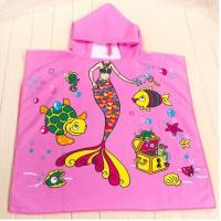 Buy cheap 60*120cm 100% polyester hooded baby bath towel,hooded towel for babies from wholesalers
