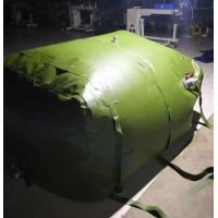 Durable 3m3 Fuel Storage Tanks Folded TPU Coated Inflatable Fuel Tank Manufactures