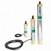 Solar Water Pump System, DC/AC, Portable, Controller, Submersible Pumps with 27V, 210W x 3 Power Manufactures