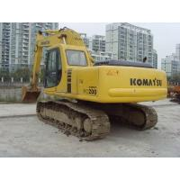 Japan Used  Komatsu Long Reach Excavator 20 Ton 0.8cbm Bucket Provide New Paint Manufactures