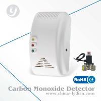 AC Powered CO Alarm Detector With Valve EN50291 Approved Pulse Output Manufactures