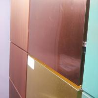 Multi Color Copper Composite Panel 600mm * 800mm * 3mm For Wall Decoration Manufactures