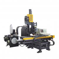 High Speed CNC Plate Punching, Marking and Drilling Machine Multifunction Manufactures