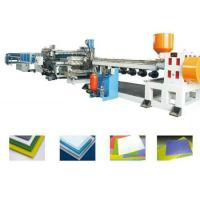 PP PE PC PVC Foam Board Extrusion Line Single Screw Extruder Machine Energy Saving Manufactures