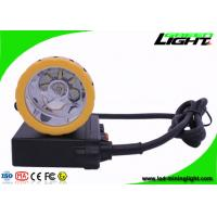 50000 Lux Coal Mining Lights , 1000mA Miner Helmet Lamp for Underground Mine Working Hunting Manufactures