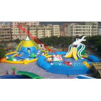large inflatable water slide pool Manufactures