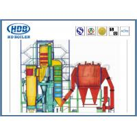 Thermal Efficiency CFB Circulating Fluidized Bed Boilers , Hot Water Boiler Coal Biomass Fired Manufactures
