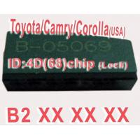 Toyota / Camry / Corolla 4D68 Duplicable Chip B2XXX Auto Key Transponder Chip Manufactures