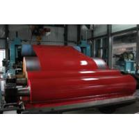 Quality Red Roof Structure Prepainted Galvalume Steel Coil For Roller Shutter Door for sale
