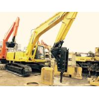 Original Paint 20 Ton Second Hand Komatsu Excavator Pc200 - 6 With Jack Hammer Manufactures