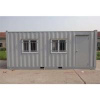 China Easy / Quick Assembly Prefab Shipping Container Homes Commercial Steady Real Estate on sale