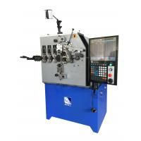 Wire Range 1.0 - 4.0mm Spring Coiling Making Machine / CNC Spring Former Manufactures