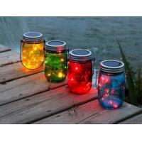 Colorful Outdoor Decorative Solar Lights / Solar Powered Lantern String Lights Manufactures