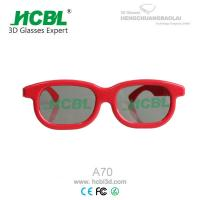 Reald Red Plastic 3D Glasses Manufactures