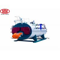 three pass fire tube wet back Automatic Wns Fire Tube Diesel Oil Natural Gas Steam Boiler for Laundry Manufactures