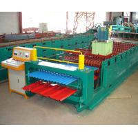 Color Coated Meta lIron Steel Corrugated Arch Roofing Panel Roll Forming Machine Manufactures