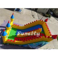 Customized PVC Tarpaulin Inflatable Dry Slide for Climbing EN14960 Manufactures