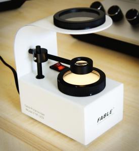 Gemstone Identification Tools , Table Polariscope with Mountable Conoscope FTP-LED