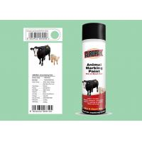 Liquid Coating Animal Marking Paint Green Color For Pigs APK-6810-6 Manufactures