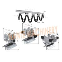 Mechanical  Cable Festoon System With Galvanized Steel / ABS Material Manufactures