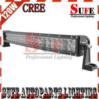 New Curved 21.5'' 120W CREE Led Work Light Bar 4x4 Truck LED Driving Light Off road 4WD Manufactures