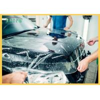High Glossy Clear Car Collision Wrap Film Car Body Wrap PE Material Manufactures