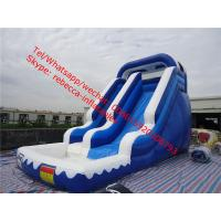 inflatble stair slide pool water slide inflatable water slide pool with slide Manufactures