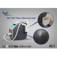 Best Effective Laser Tattoo Removal Equipment Q Switch Nd Yag Laser With Spot Size Adjustable Manufactures