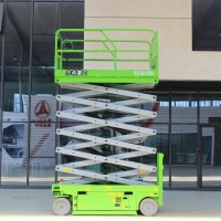 Buy cheap 320KG Load Capacity 15m Scissor Mobile Lift Platform JESH AWP self-propelled from wholesalers