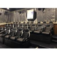 Genuine Leather Electric Mobile 5D Cinema Equipment For Business Center Manufactures