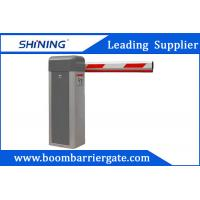 AC Motor Gray Telescopic Vehicle Parking Entrance Barrier For Promotion Manufactures