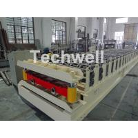 Quality Wall Cladding Roof Roll Forming Machine , Metal Forming Equipment Yield Strength 250-350Mpa for sale