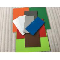 Pearl Red PVDF Paint Aluminium Composite Sheet With Weather Resistance Manufactures