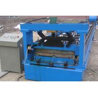 Rib Wall Roof Panel Roll Forming Machine / Water Proof Color Steel Roll Former Manufactures