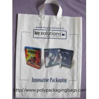 Quality Fashionable White Low Density Polyethylene Bags White Ribbon for sale